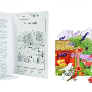 Book Plus Foam Model: Urban Habitat