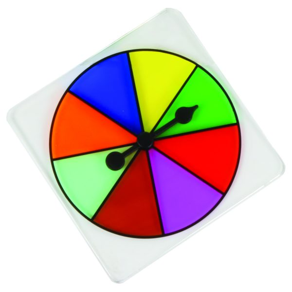 Transparent 8 Color Spinners Each