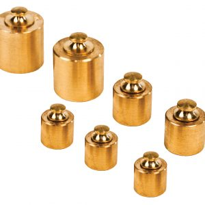 7 Piece Brass Mass Set