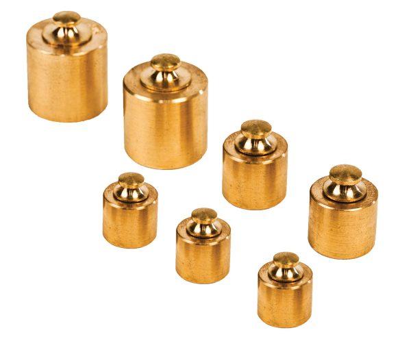 7 Piece Brass Mass Set