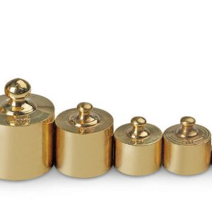 8 Piece Brass Mass Set