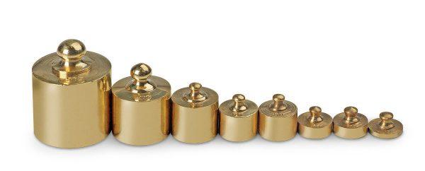 8 Piece Brass Mass Set