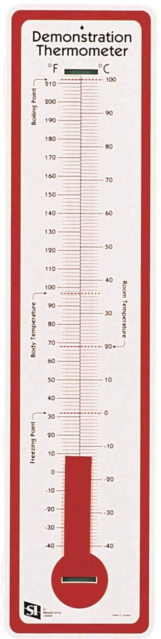 Thermometer, Demonstration (C & F)