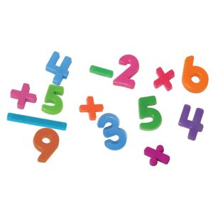 Magnetic Numbers: 34mm/1.2 inches, 162 Pieces / Container