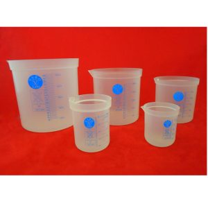 Beaker Graduated Polypropylene Set of 5 (50,100.250,500,1000 ML)