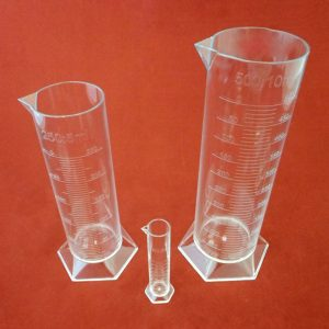 Graduated Cylinder Starter Set of 4 PP (10, 25, 50 & 100 ml)