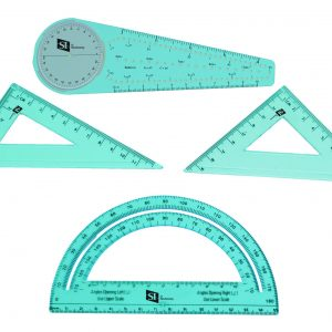 5-in-1 Compass, Geometry Set